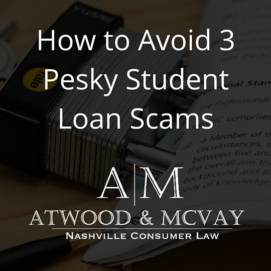 How to Avoid 3 Pesky Student Loan Scams