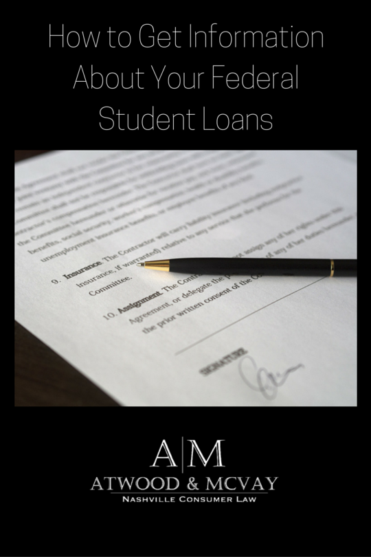 How to Get Information About Your Federal Student Loans