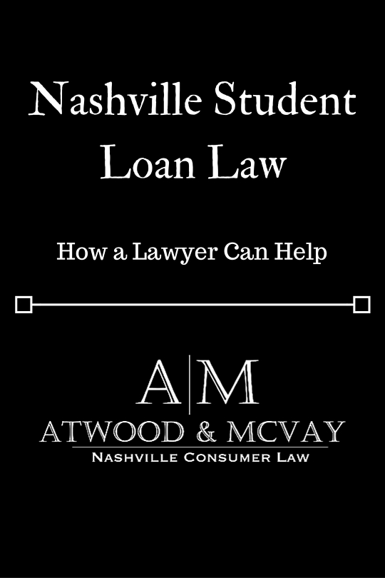 Nashville Student Loan Law –