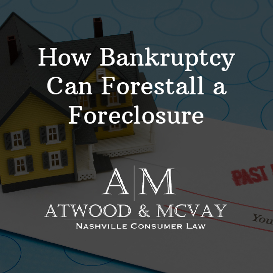 How Bankruptcy Can Forestall a Foreclosure