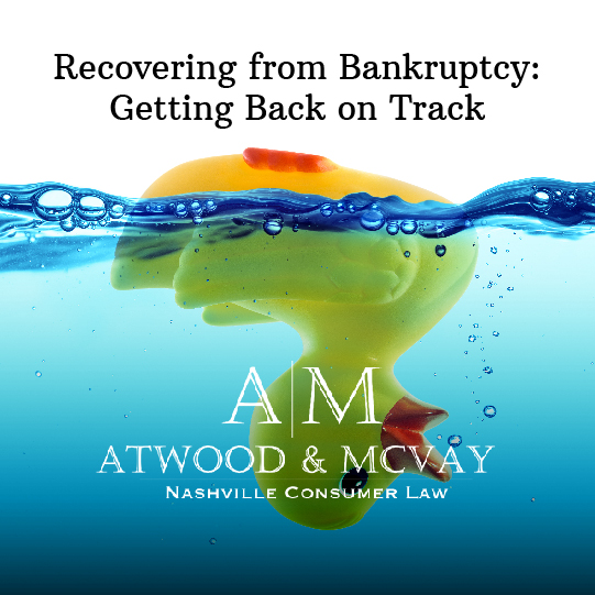 Getting Back on Track After Bankruptcy
