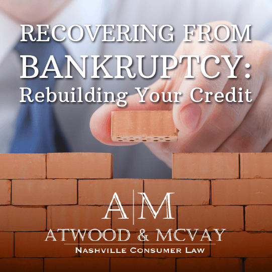 Building Your Credit After Bankruptcy